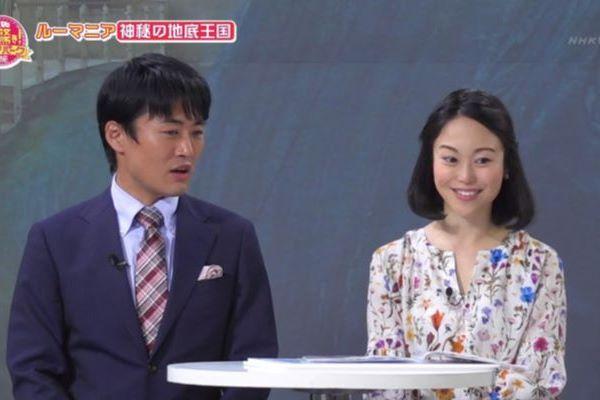 池田伸子 女子アナ スカートの中 床 パンチラ 放送事故 エロ画像 1