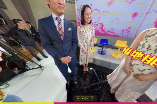 池田伸子 女子アナ スカートの中 床 パンチラ 放送事故 エロ画像 2