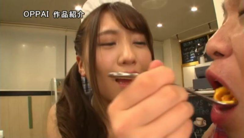 巨乳メイド 香坂紗梨 エロ画像 37