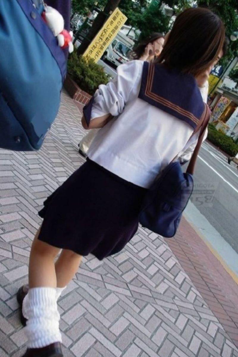 夏服JK 透けブラジャー画像 12