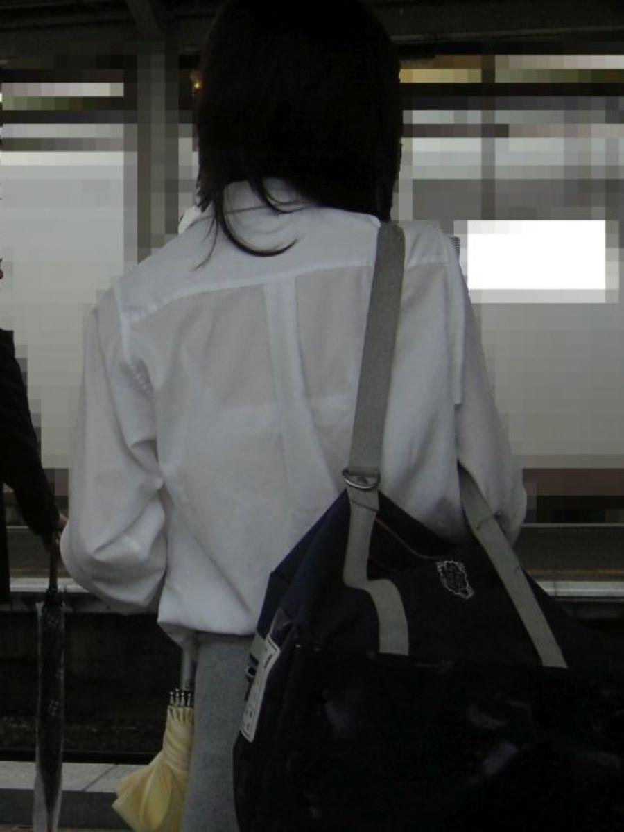 夏服JK 透けブラジャー画像 121