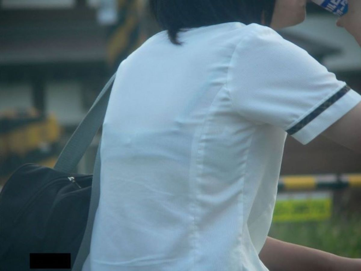 夏服JK 透けブラジャー画像 124