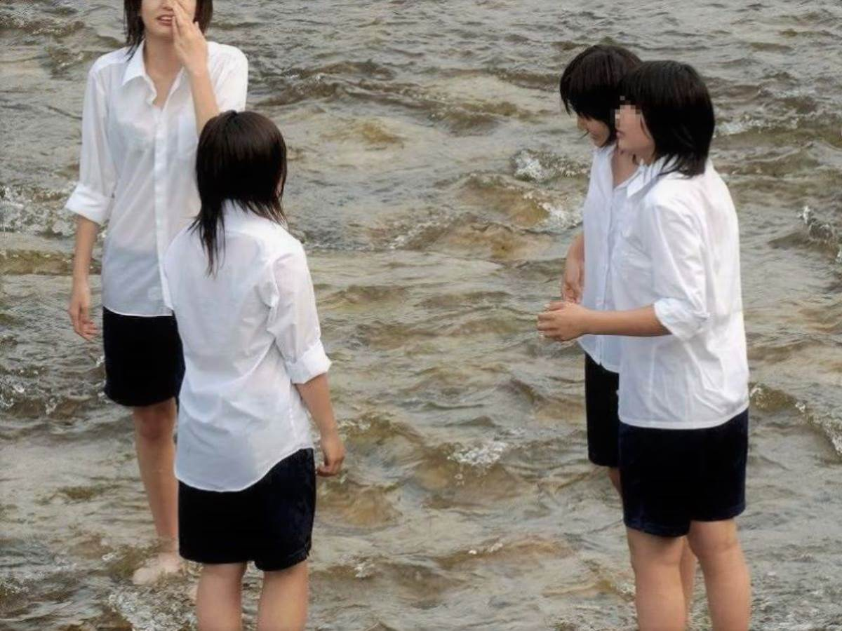 夏服JK 透けブラジャー画像 135