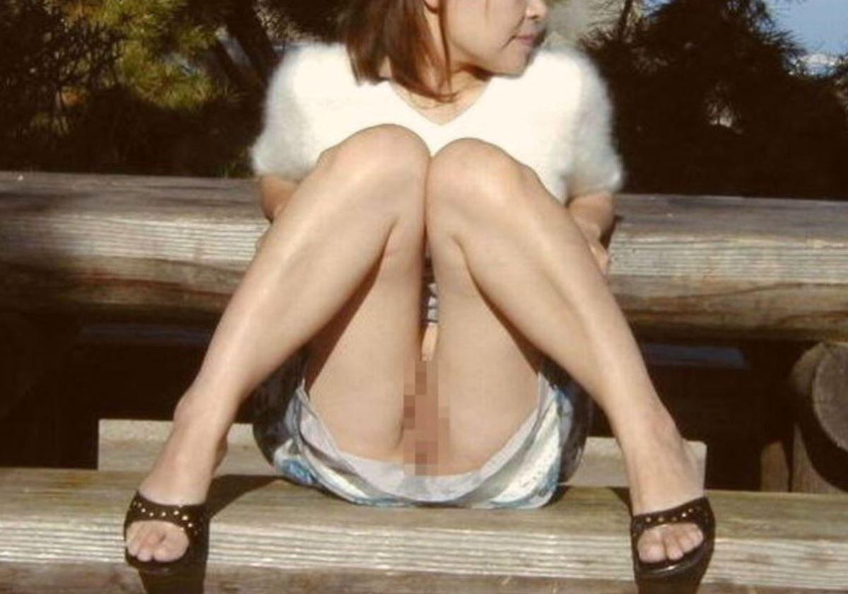 ミニスカ 素人 ノーパン画像 89