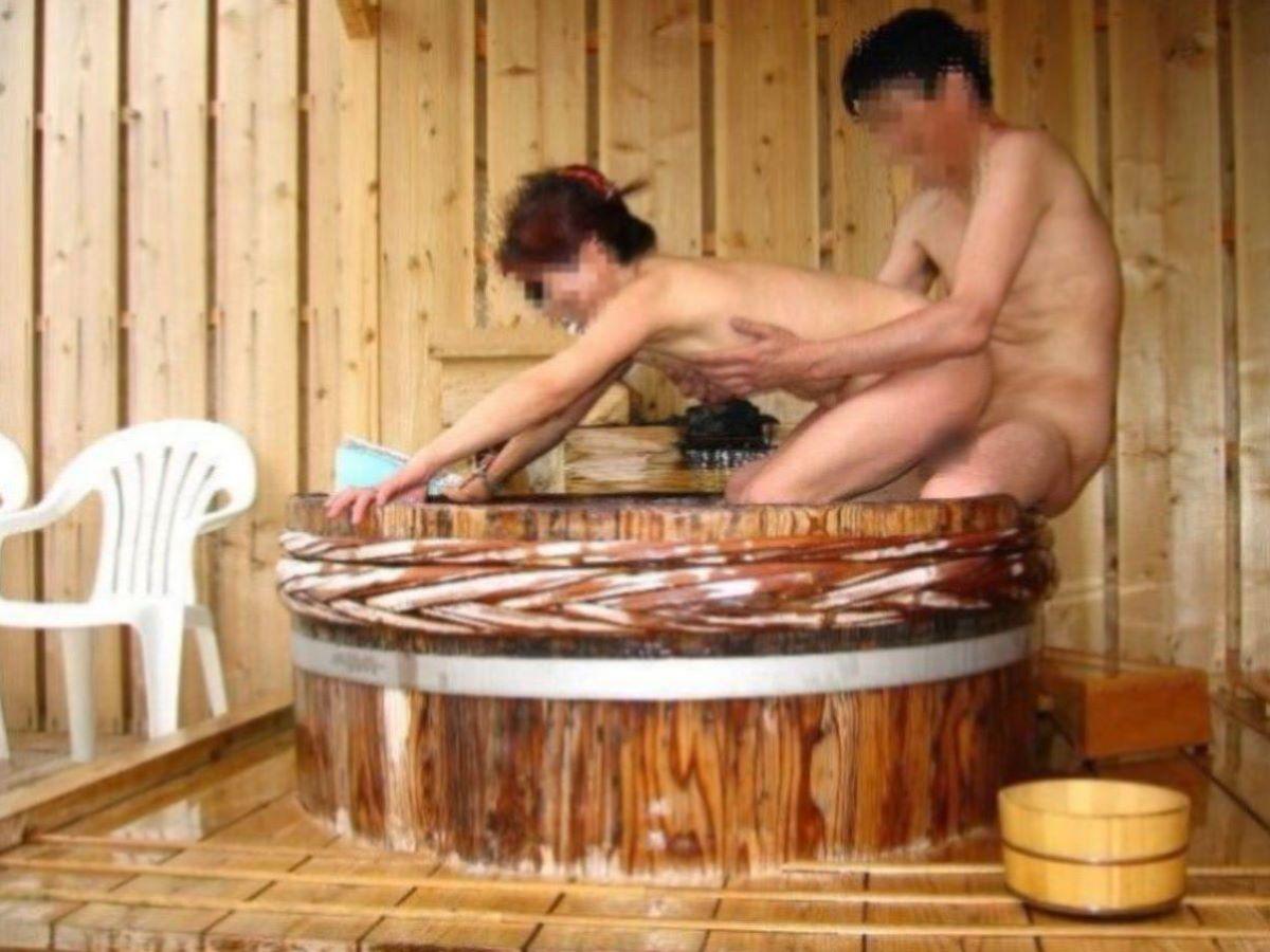 風呂場 入浴中 セックス画像 75