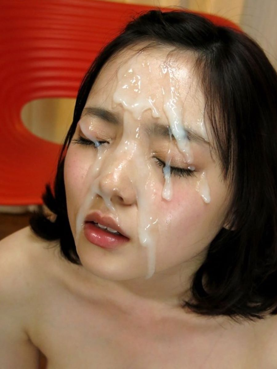 China boy covered in cum
