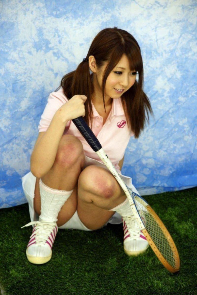 テニス女子 パンチラ エロ画像 3