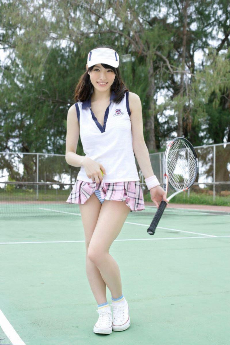 テニス女子 パンチラ エロ画像 5