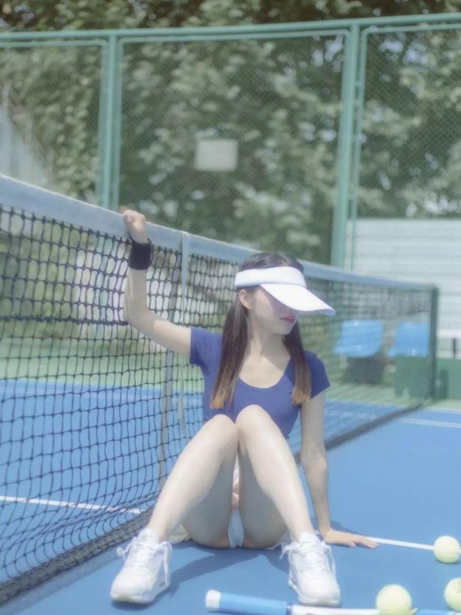 テニス女子 パンチラ エロ画像 8