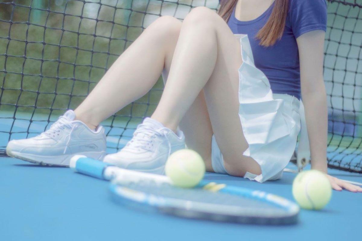 テニス女子 パンチラ エロ画像 9
