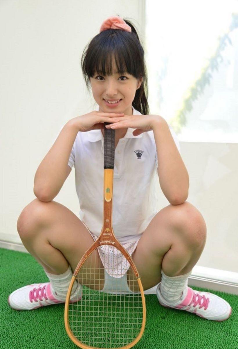 テニス女子 パンチラ エロ画像 27