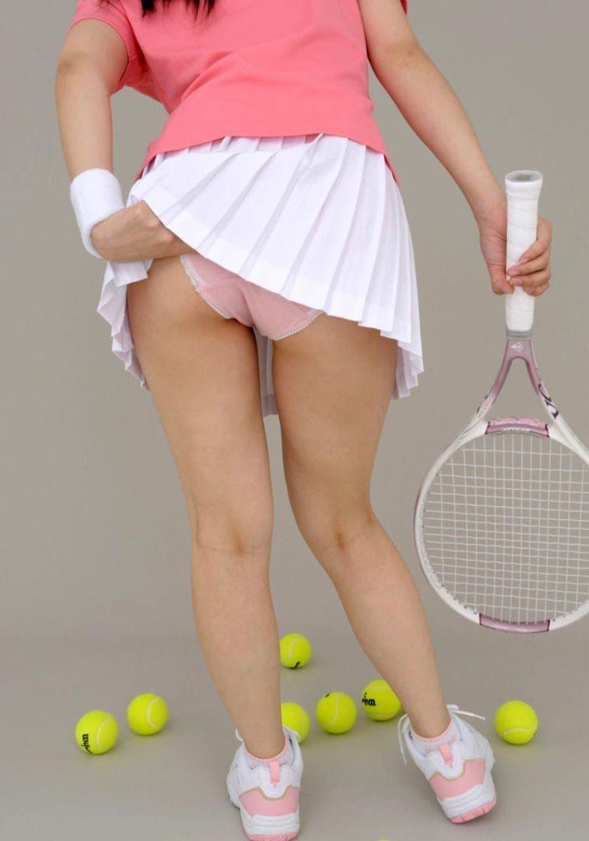 テニス女子 パンチラ エロ画像 37
