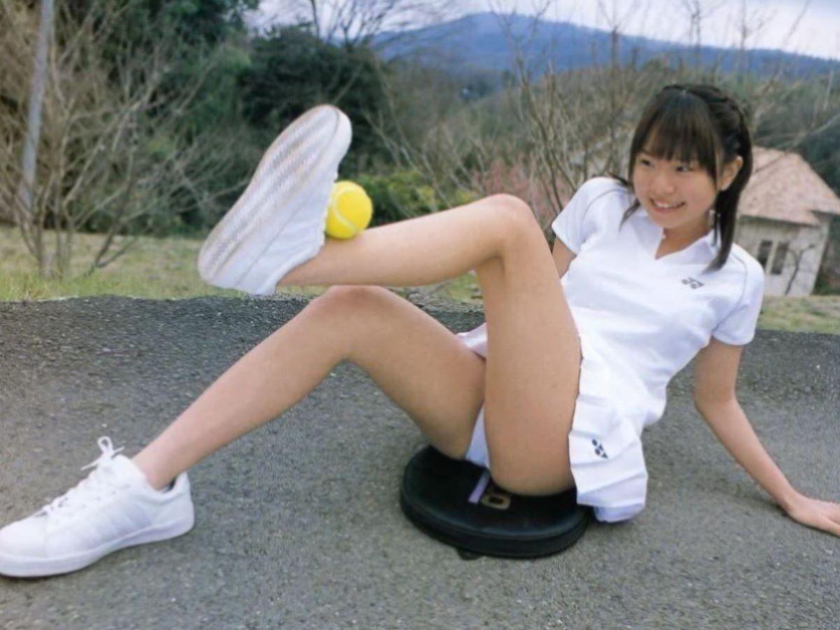 テニス女子 パンチラ エロ画像 52