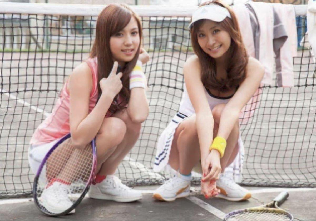 テニス女子 パンチラ エロ画像 60