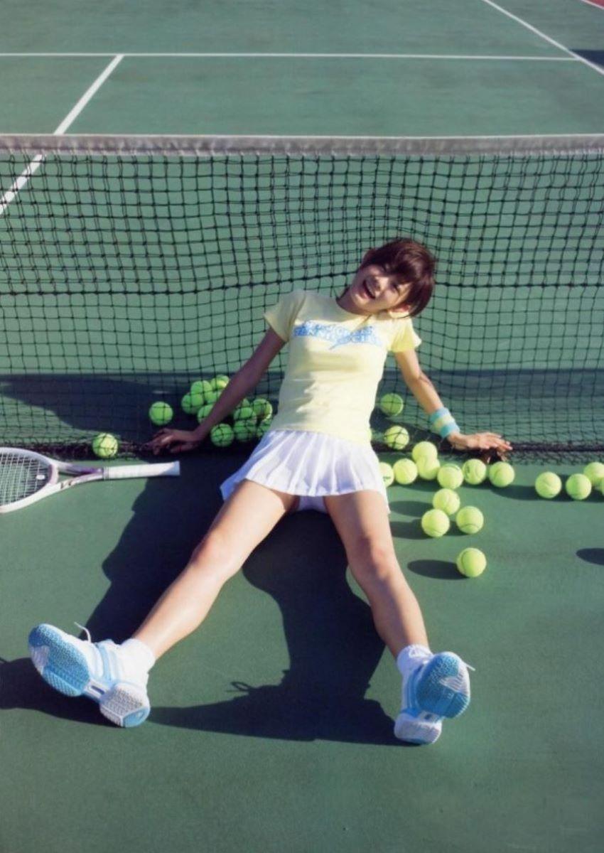 テニス女子 パンチラ エロ画像 61