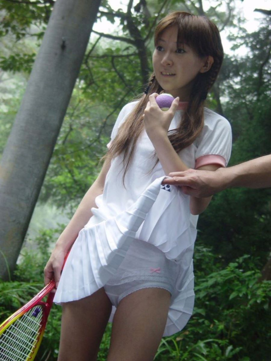 テニス女子 パンチラ エロ画像 64
