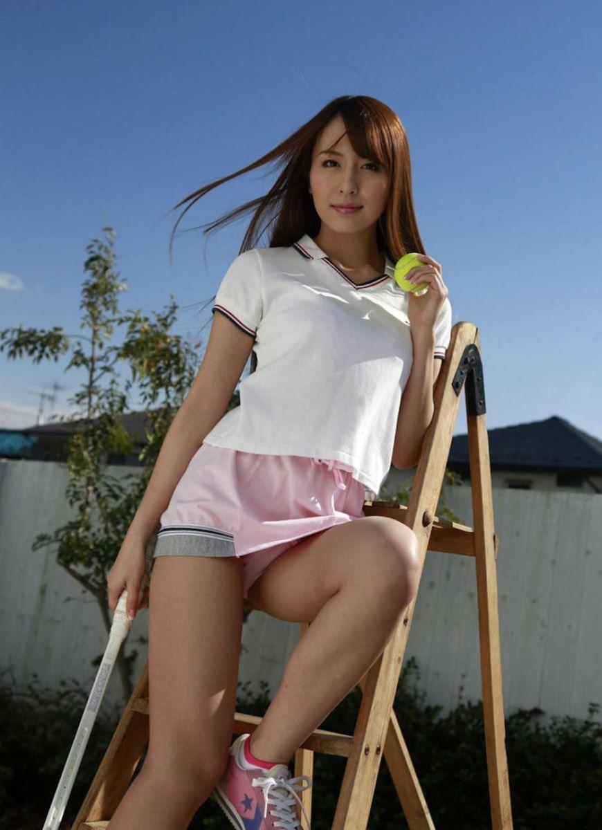 テニス女子 パンチラ エロ画像 66