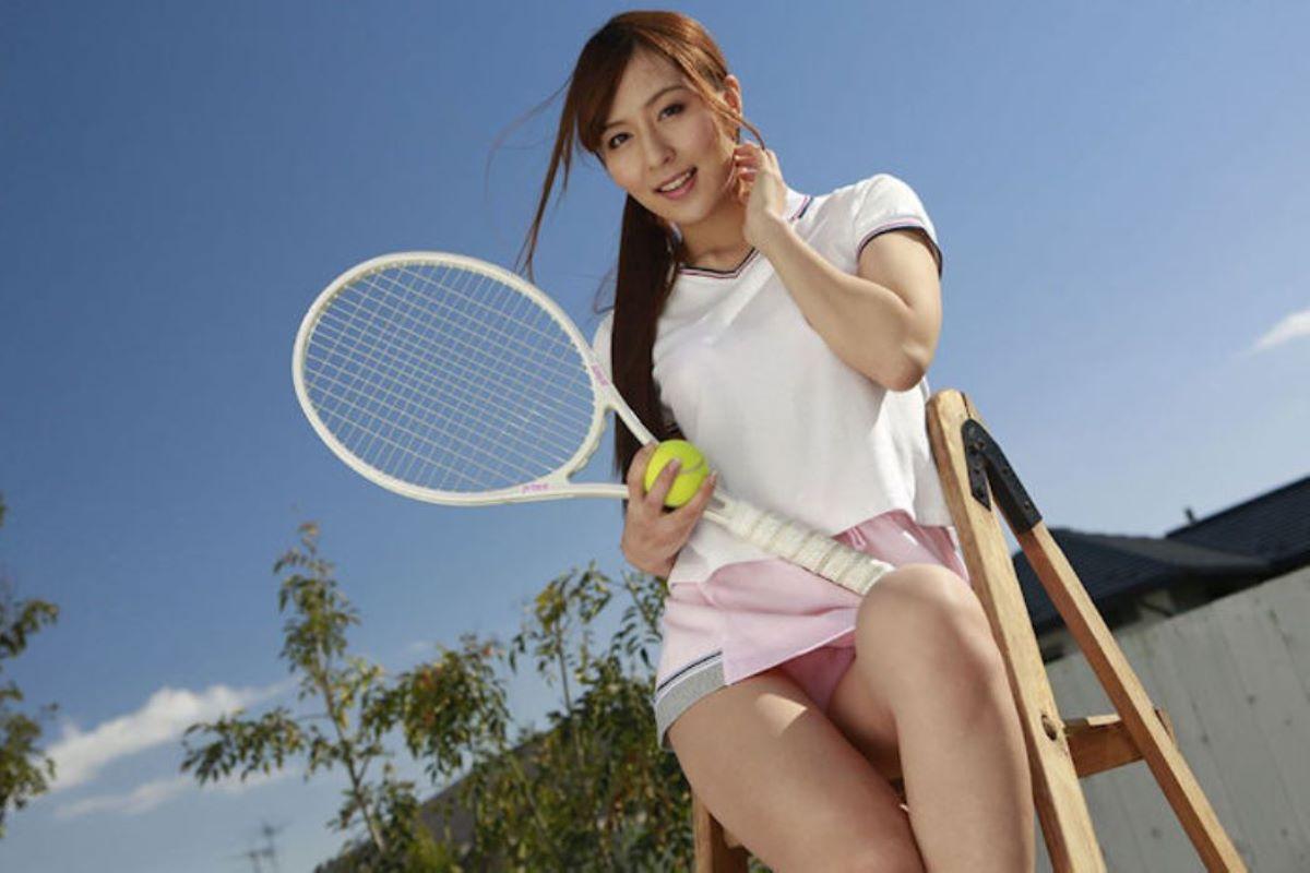 テニス女子 パンチラ エロ画像 67