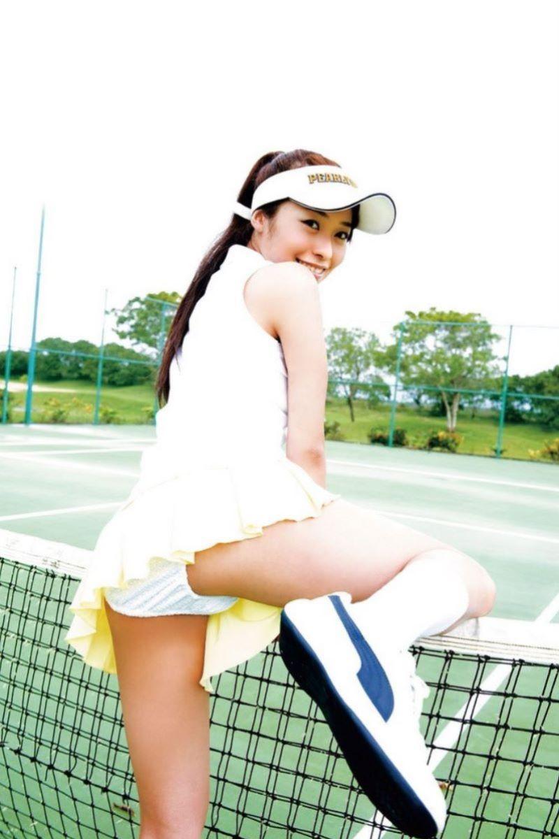 テニス女子 パンチラ エロ画像 76