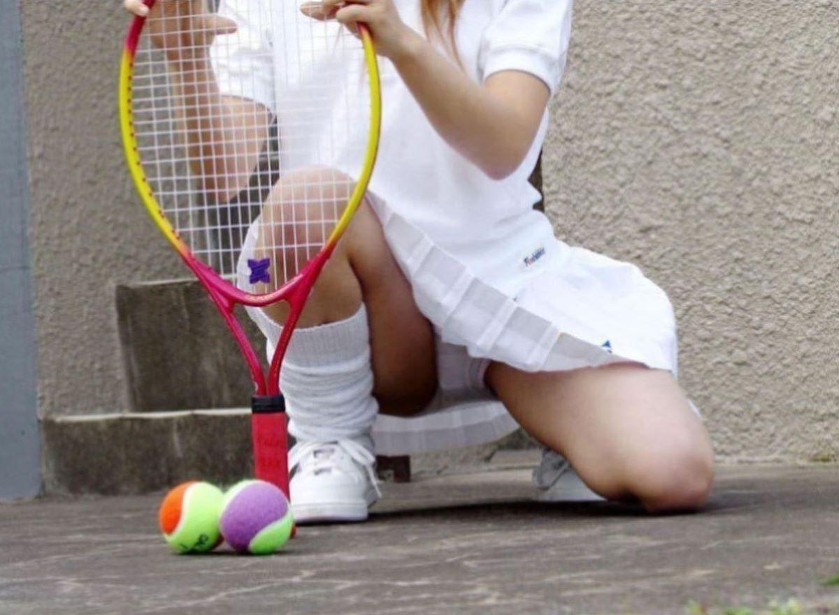テニス女子 パンチラ エロ画像 77