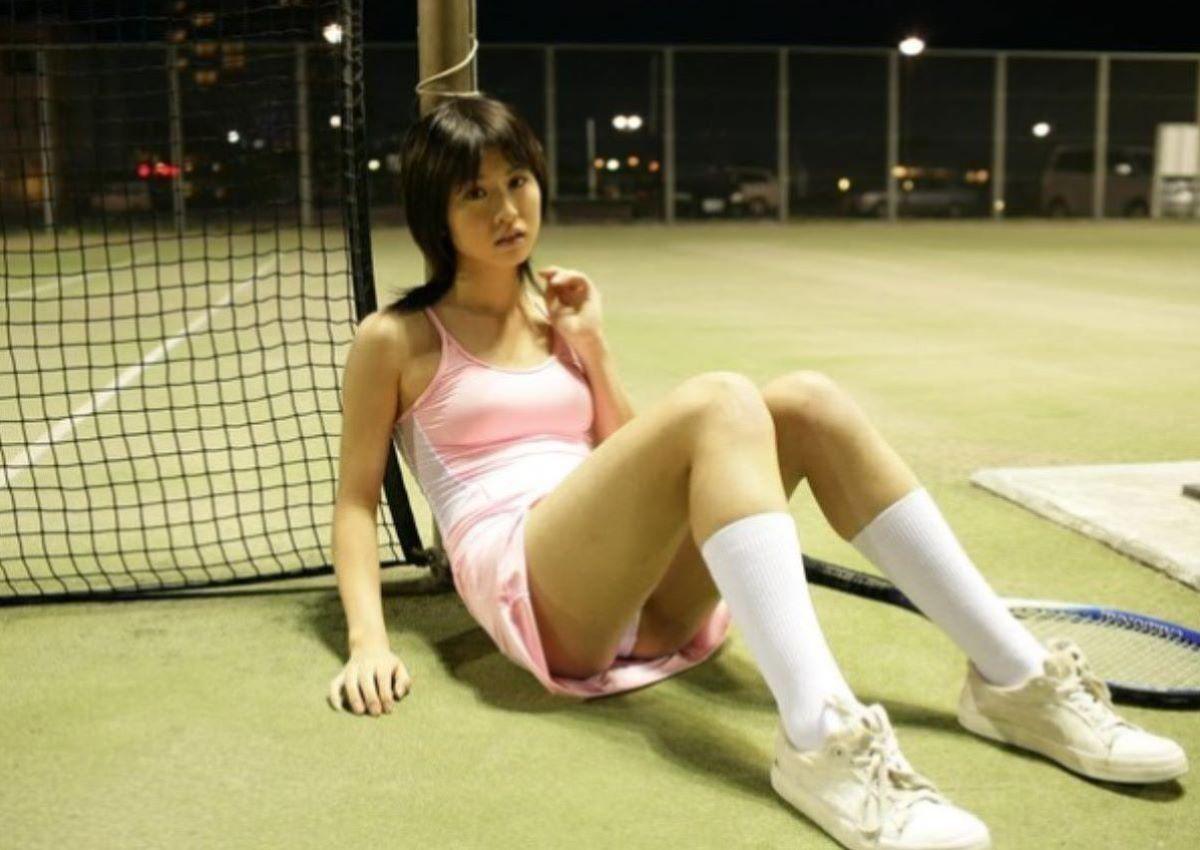 テニス女子 パンチラ エロ画像 89