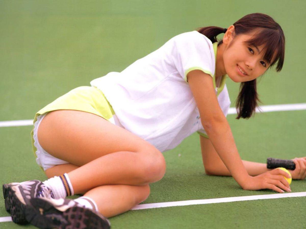 テニス女子 パンチラ エロ画像 102