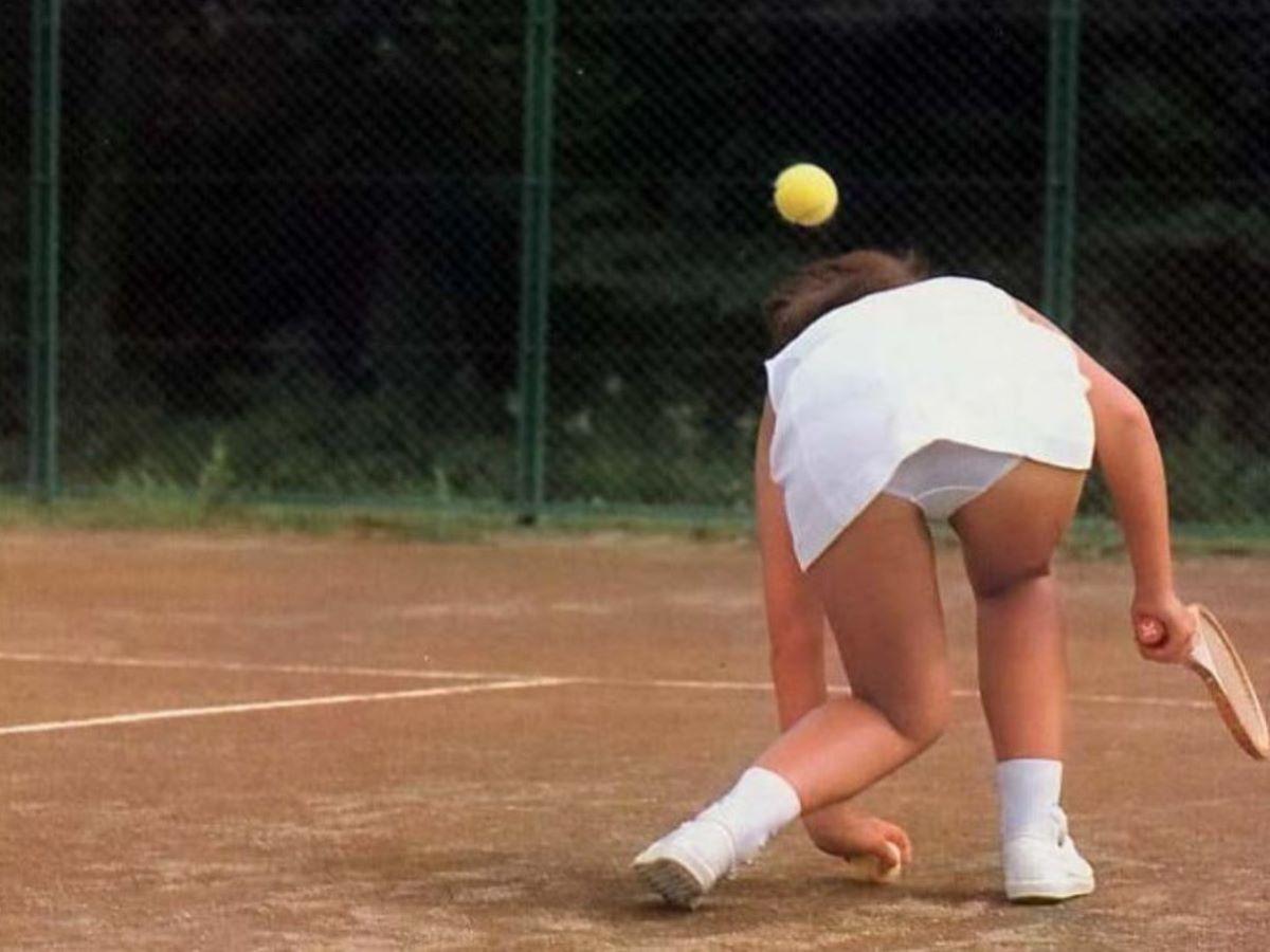 テニス女子 パンチラ エロ画像 108