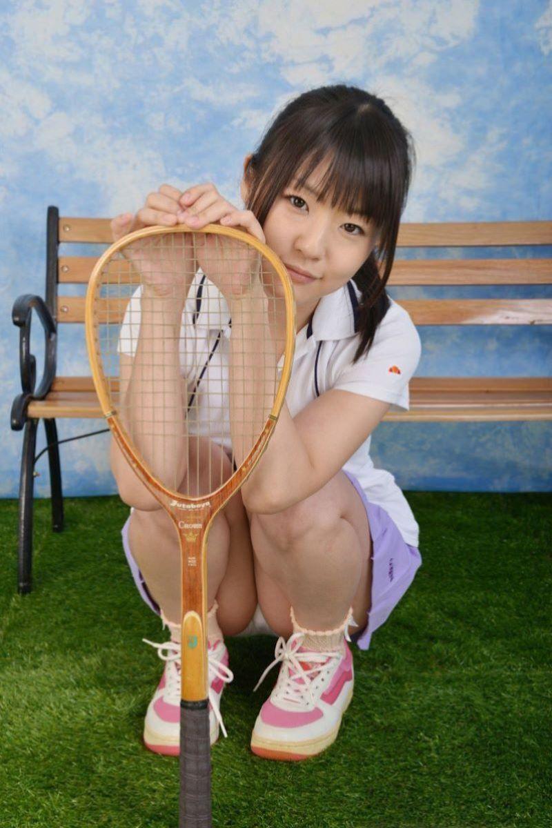 テニス女子 パンチラ エロ画像 109