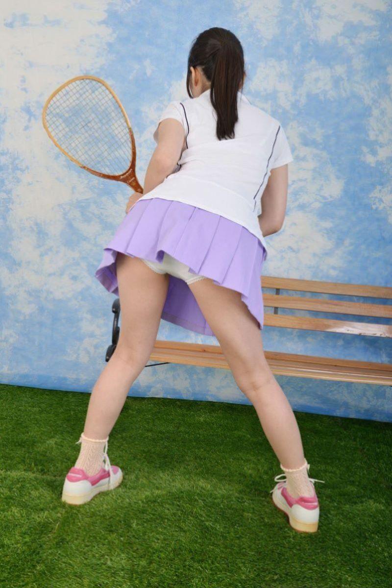 テニス女子 パンチラ エロ画像 111