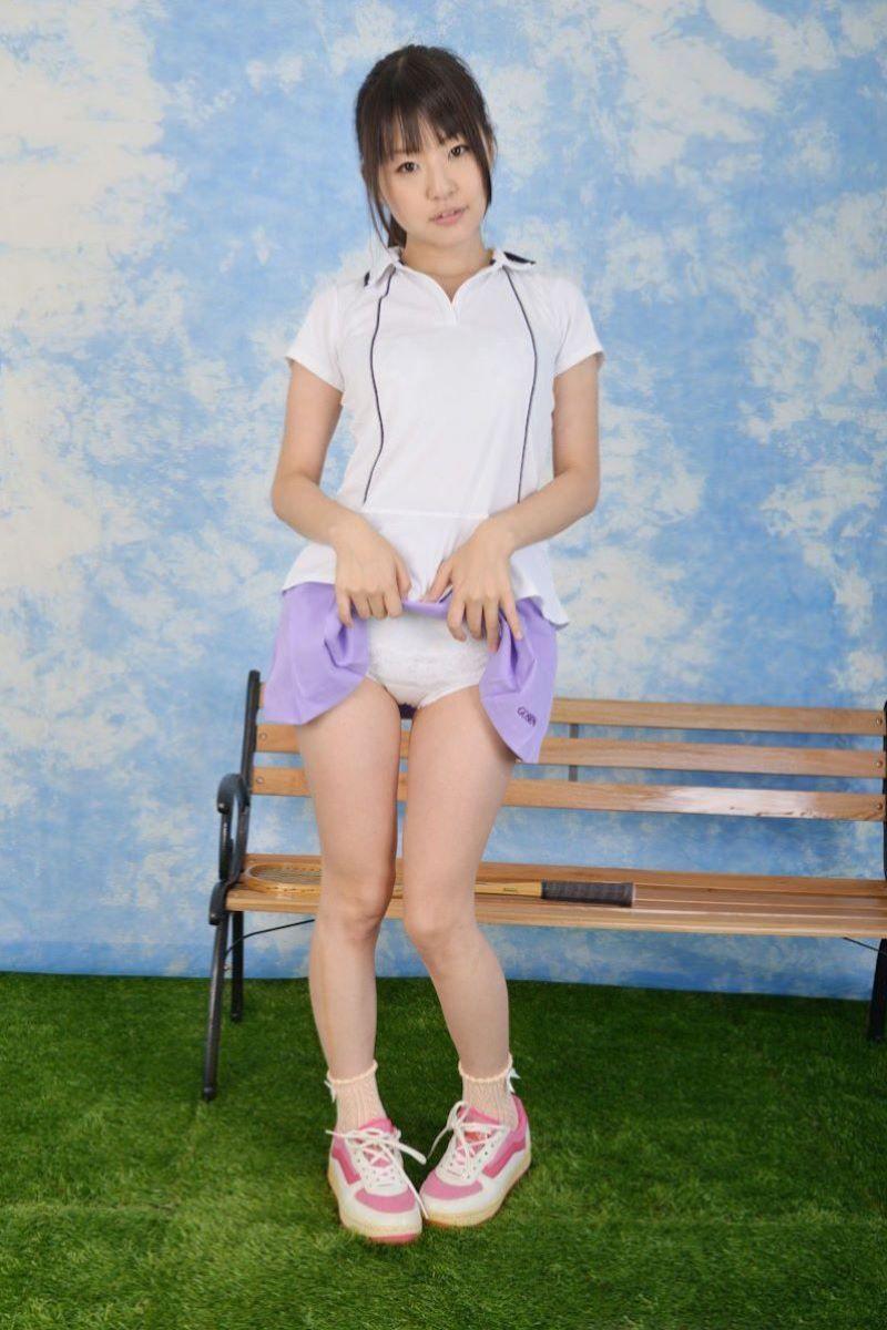 テニス女子 パンチラ エロ画像 113