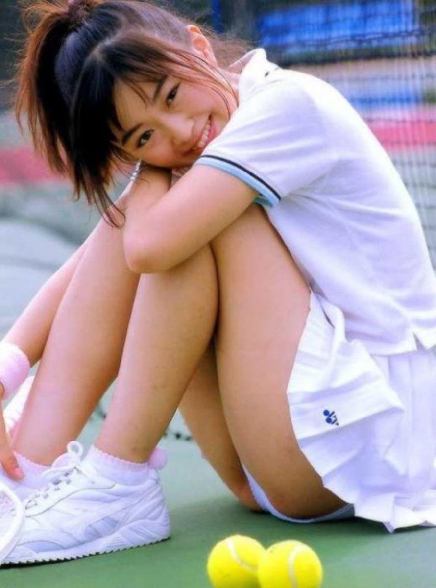 テニス女子 パンチラ エロ画像 118