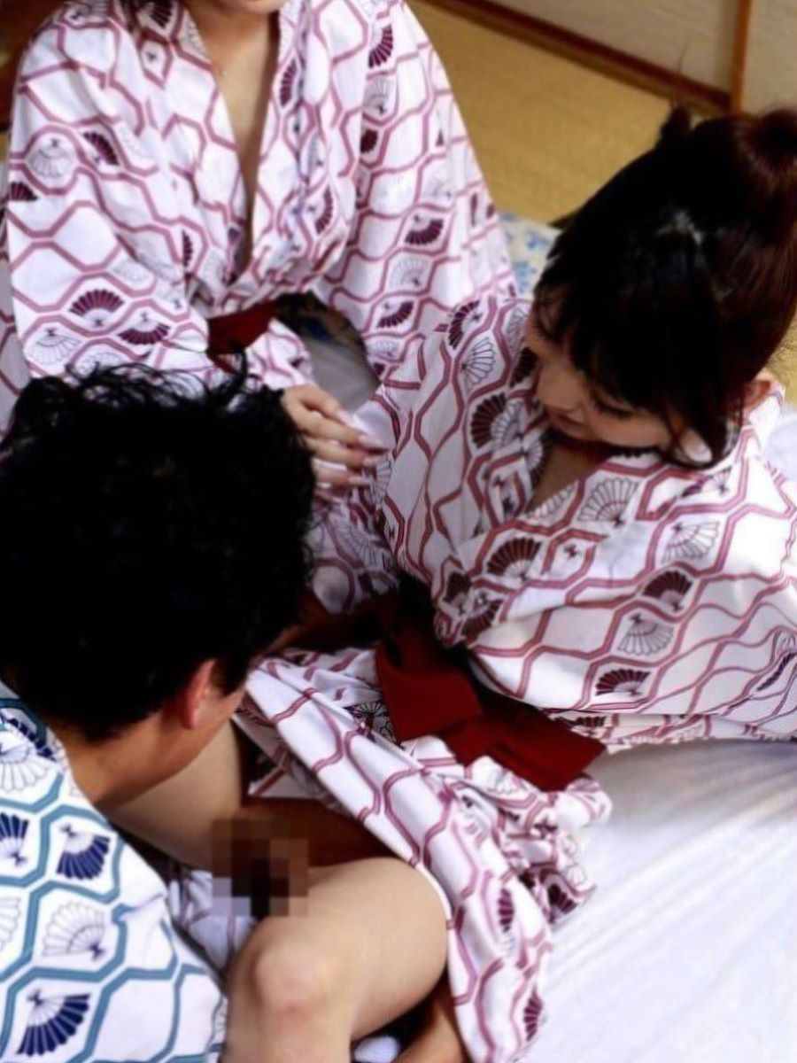 旅館 夏祭り 浴衣 浴衣姿 セックス画像 13