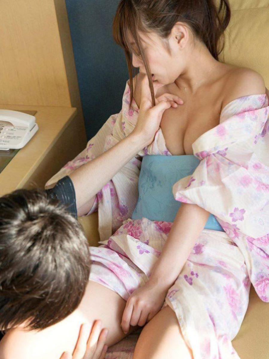 旅館 夏祭り 浴衣 浴衣姿 セックス画像 101