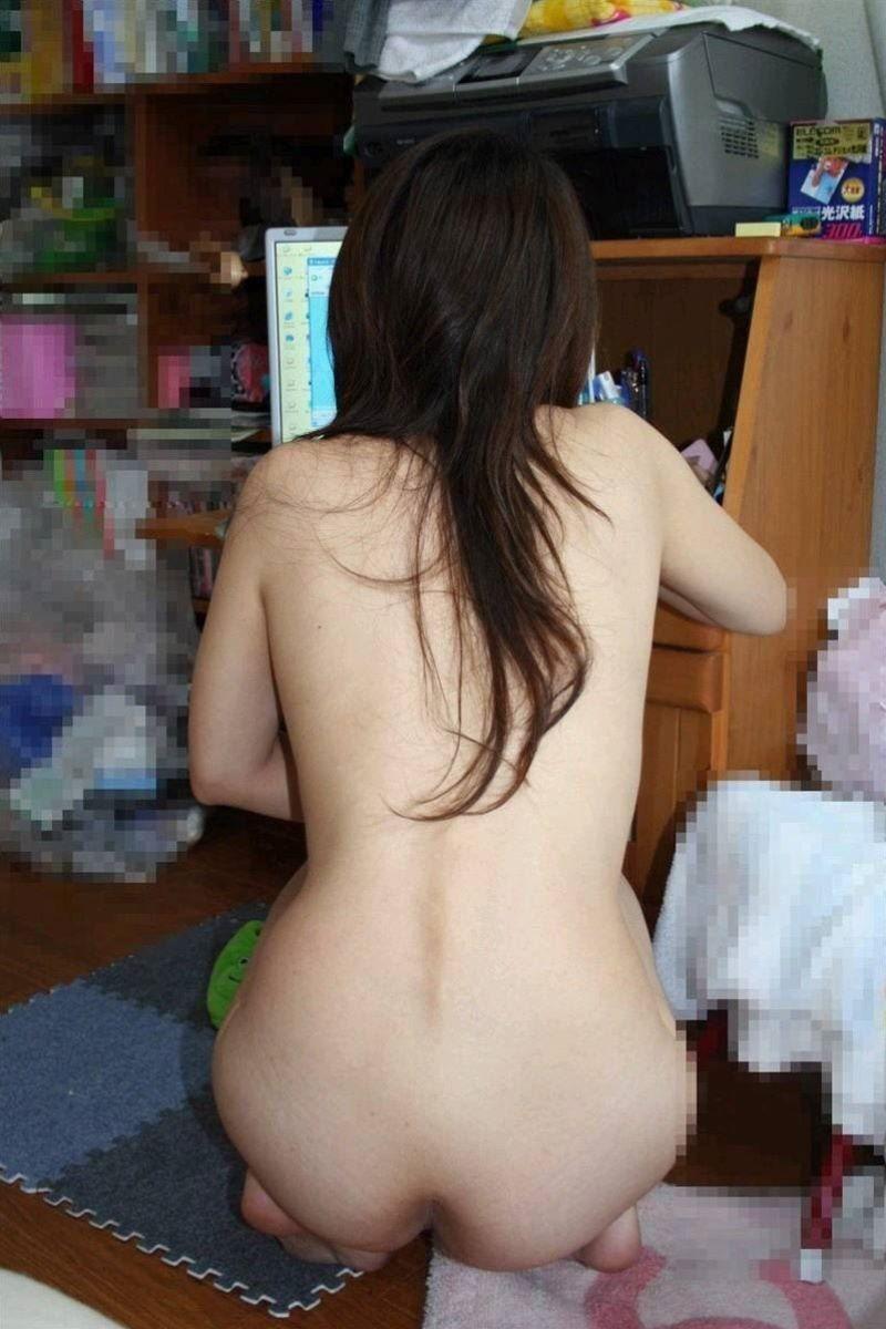 家庭内 素人 全裸 ヌード画像 94