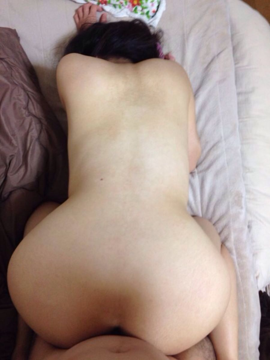 素人 後背位 セックス エロ画像 46