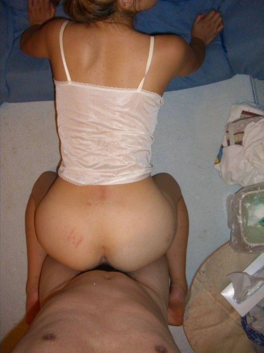 素人 後背位 セックス エロ画像 92