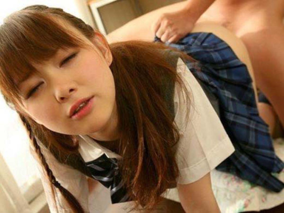 制服姿 JK 女子高生 セックス 9