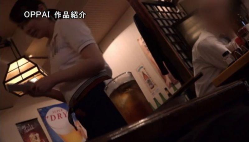 巨乳アルバイト店員 永井千里 エロ画像 13