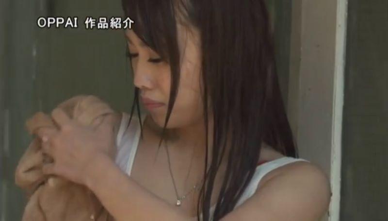 濡れ透け女子大生 相沢夏帆 エロ画像 38