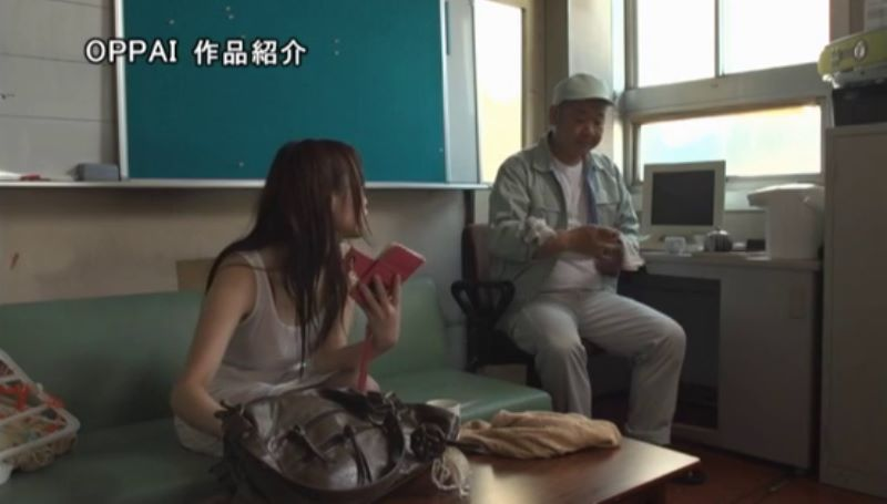 濡れ透け女子大生 相沢夏帆 エロ画像 42