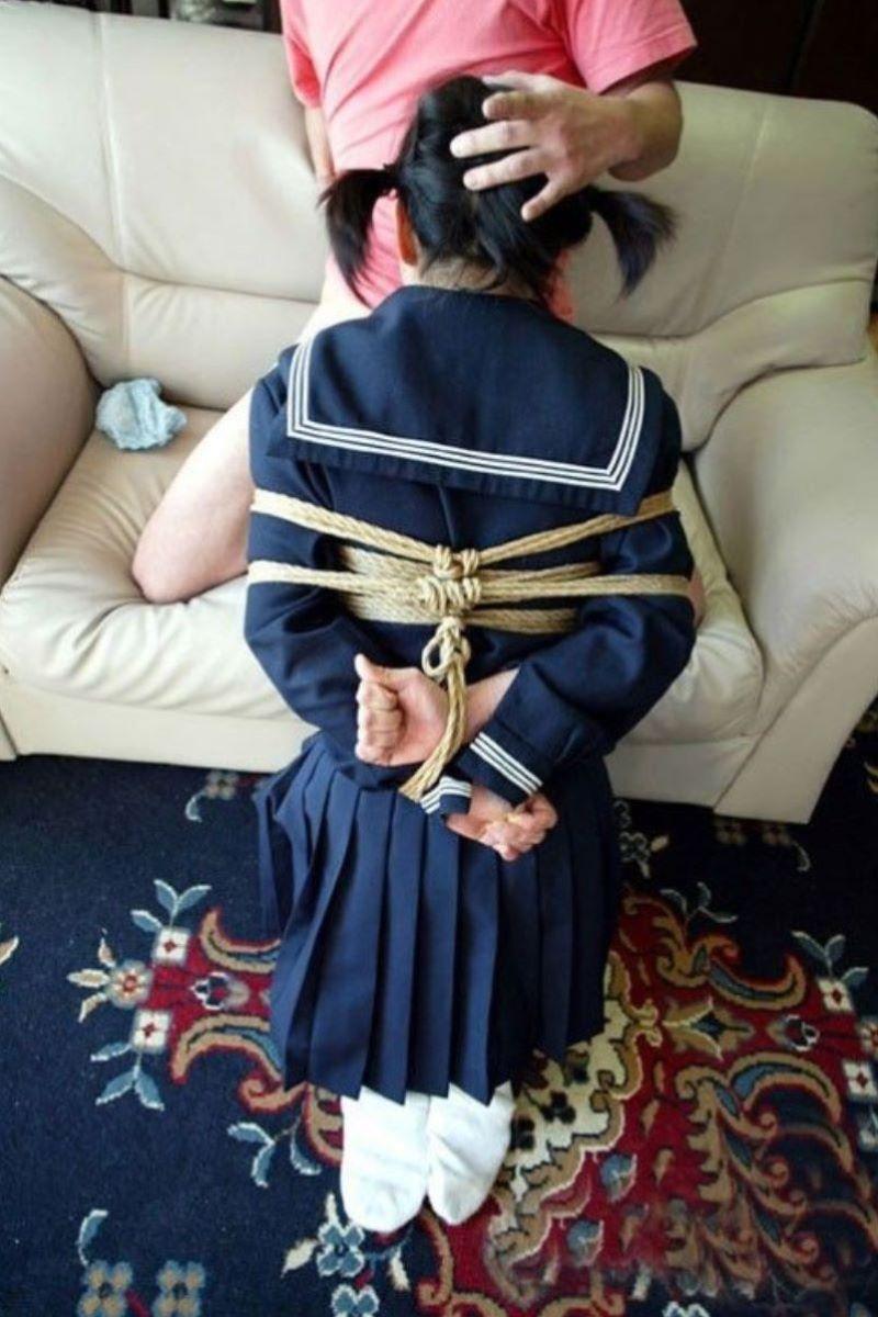 制服 JK 着衣 緊縛 3