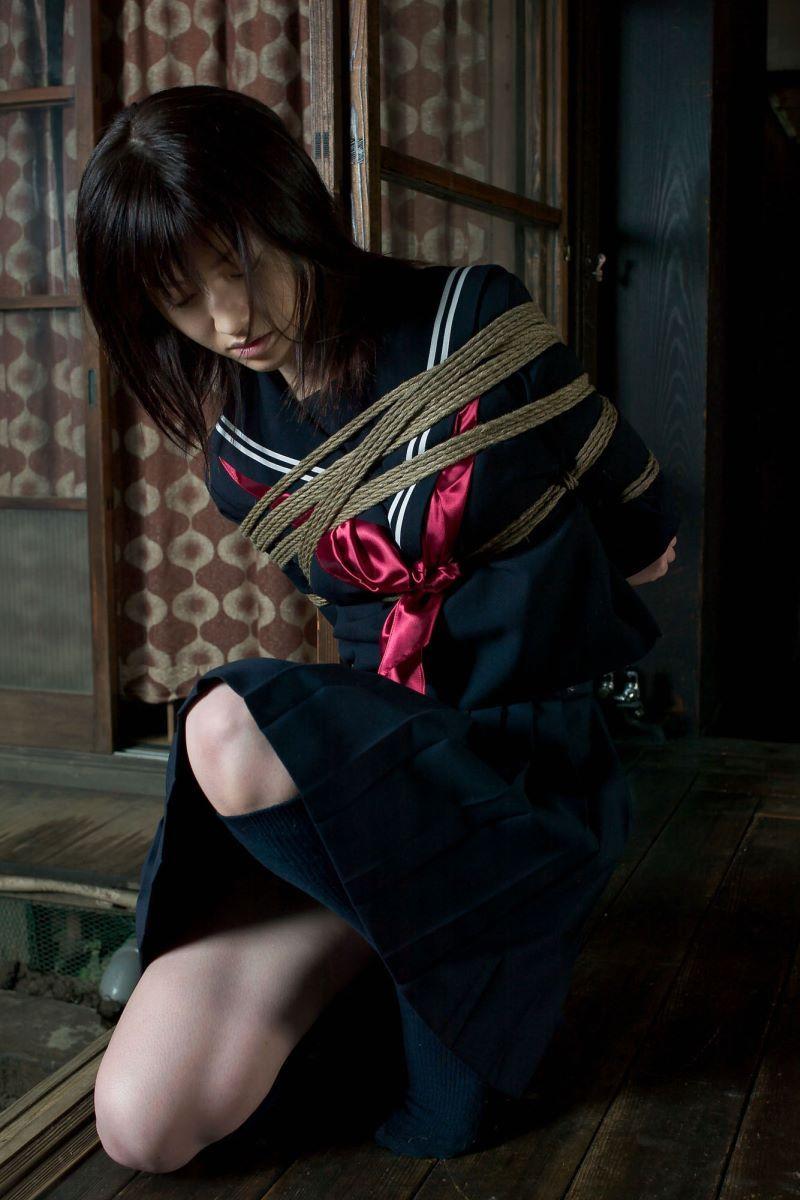 制服 JK 着衣 緊縛 32
