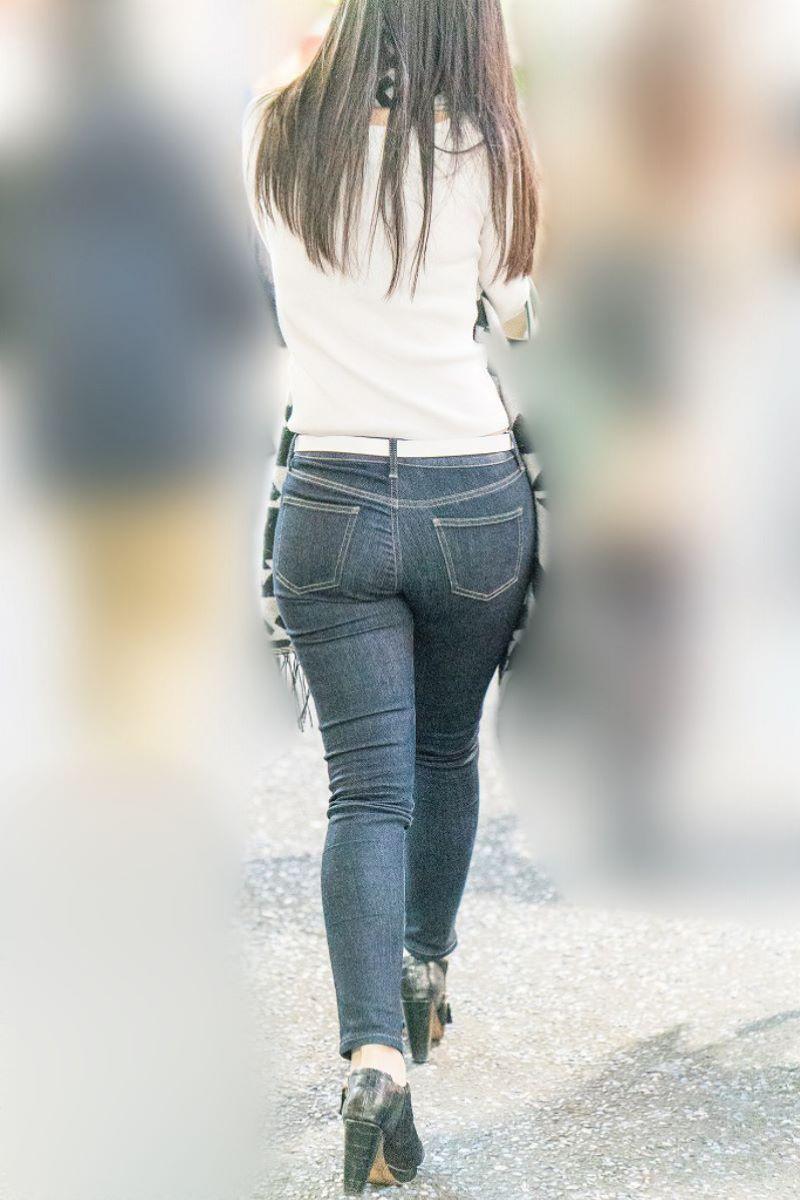 スキニージーンズ ピチピチ デニム エロ画像 73