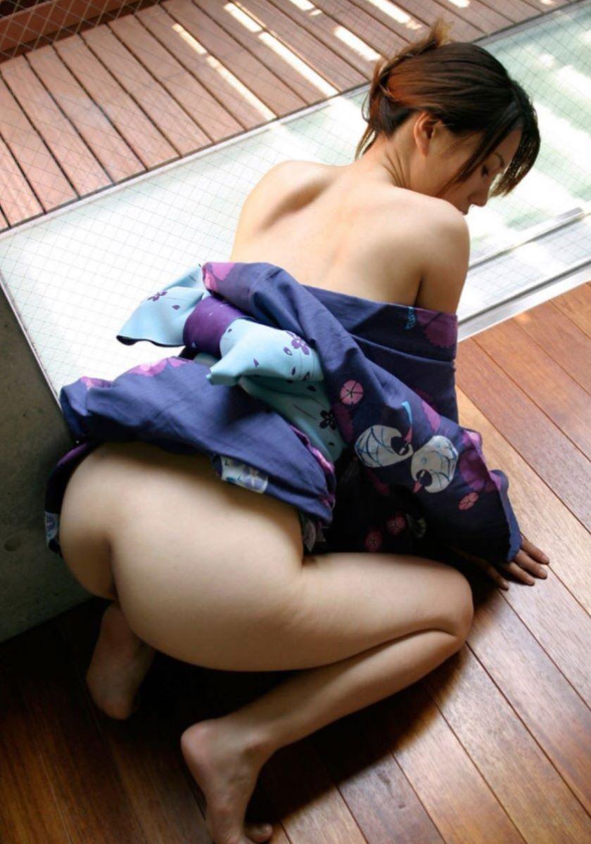 着衣 和服 浴衣 セックス 29
