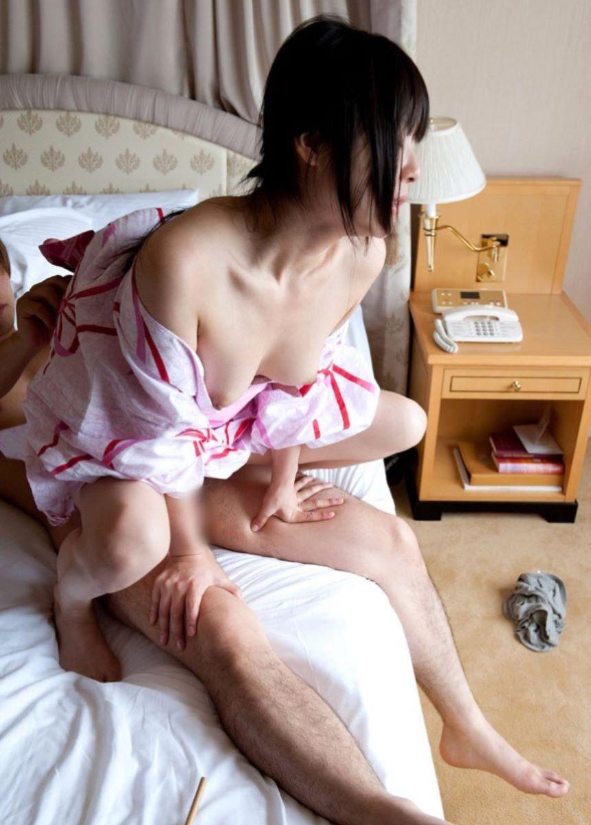 着衣 和服 浴衣 セックス 32