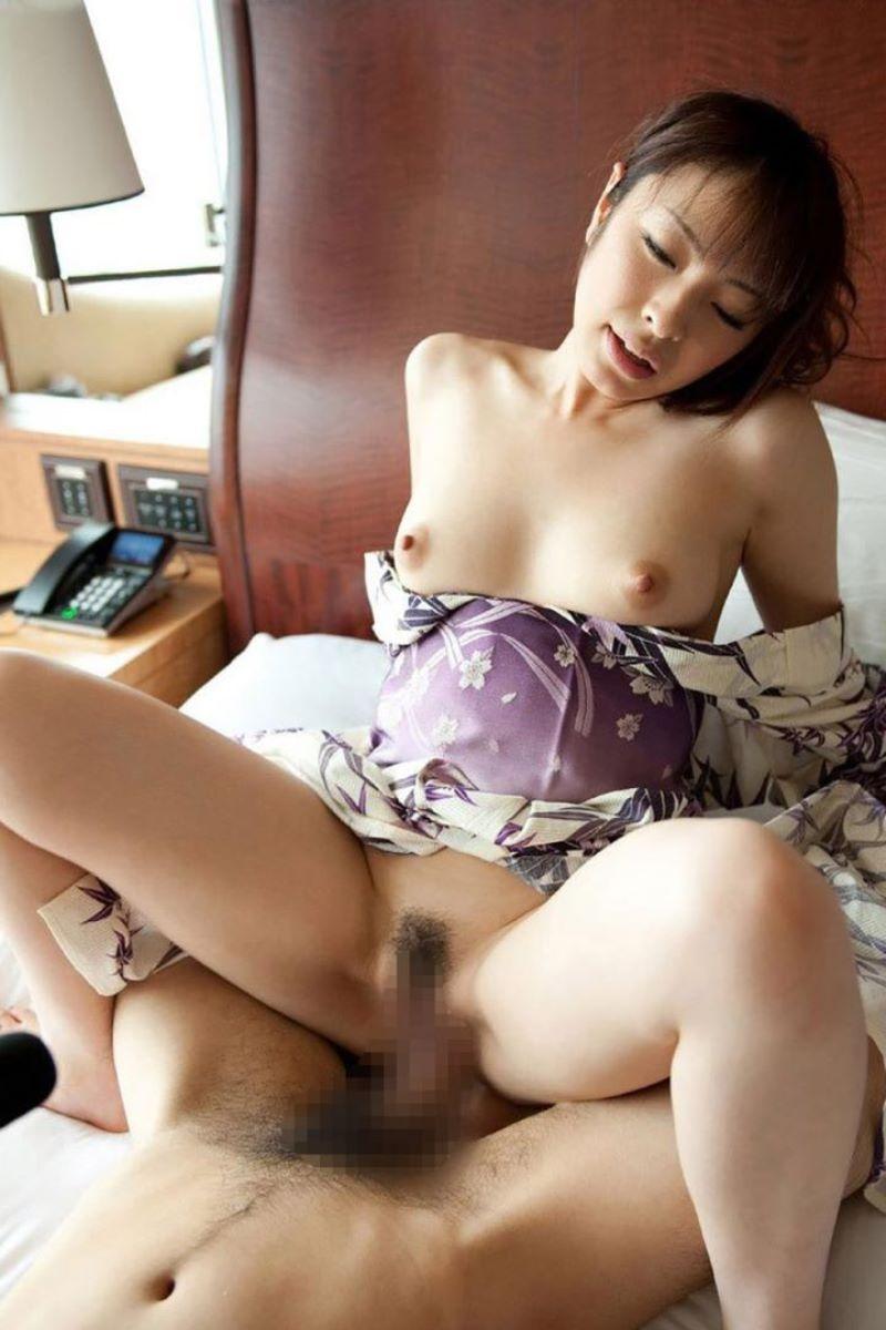 着衣 和服 浴衣 セックス 104