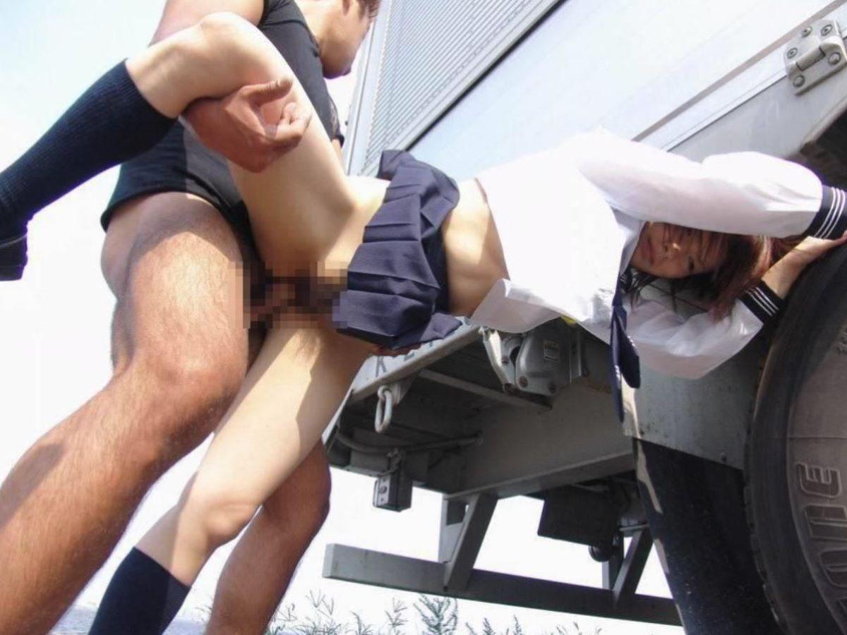 立ちバック 片足上げ セックス 13