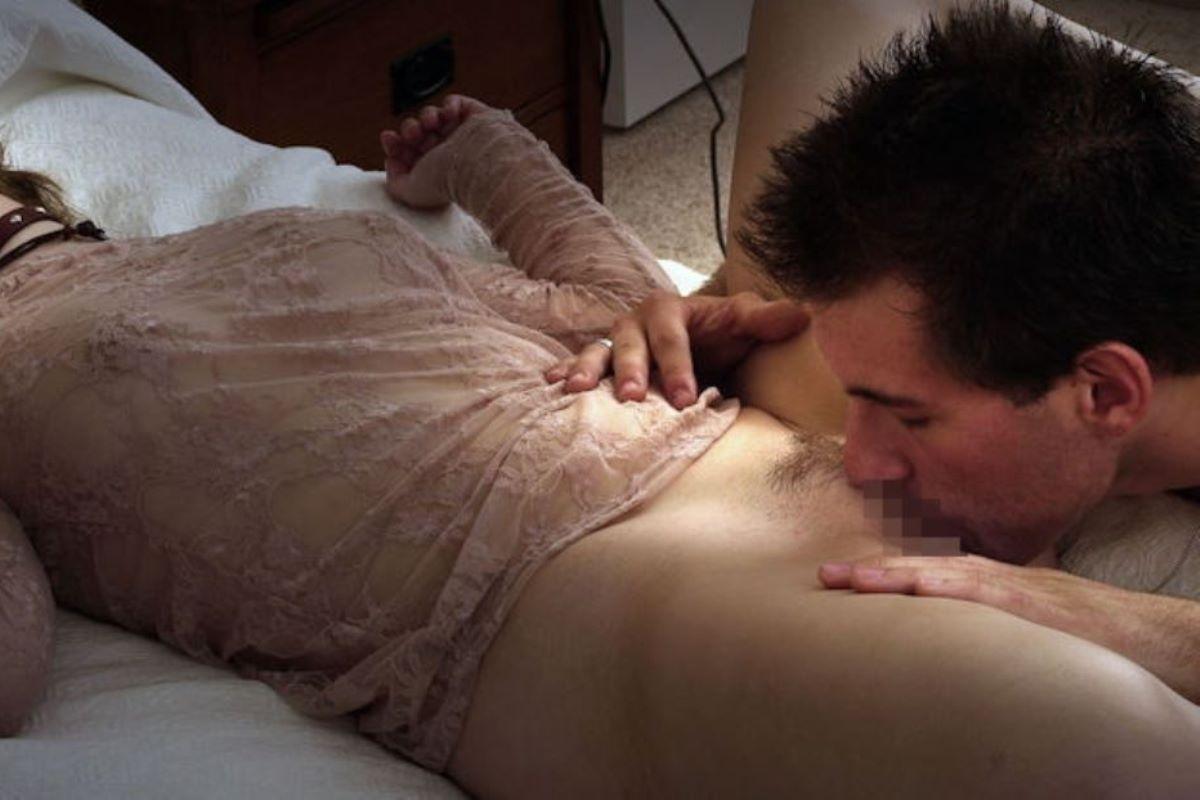 クリトリスを舐める外国人クンニ画像 29