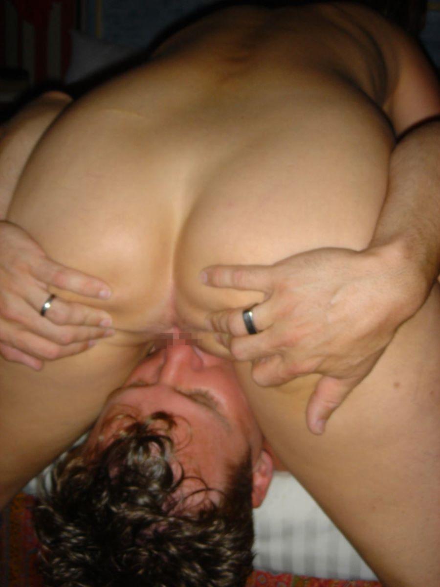 クリトリスを舐める外国人クンニ画像 63