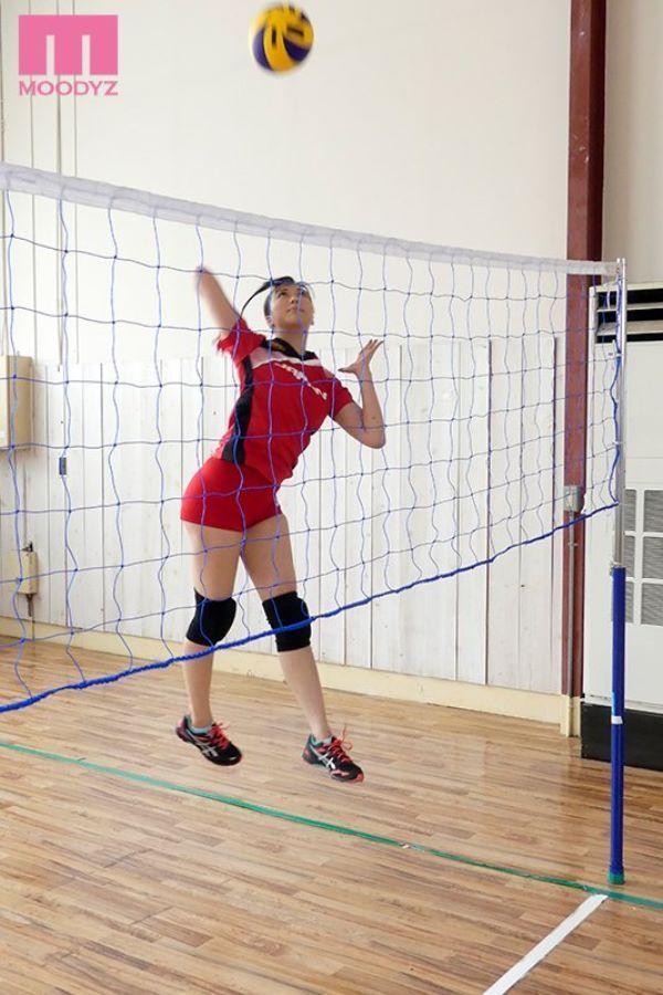 女子バレーボール選手 土谷まな エロ画像 1